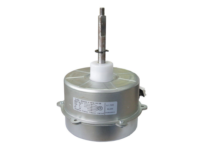 Air Conditioner BLDC Fan Motor / Single Phase Bldc Motor With Hall Sensor